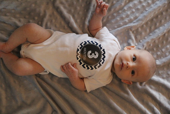 Alex 3 Months Old
