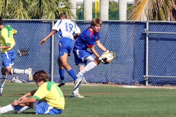 Players Club of Tampa vs Plantation Eagles Apr 1st 2006 2:30pm, FAU field Boca Raton, FL,  Players Club wins 6-0