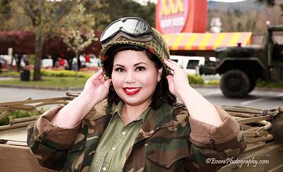 Jessica V. Military Shoot.
