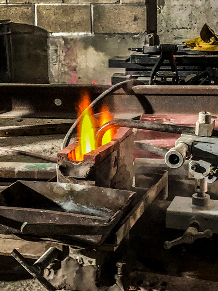 Exothermic Welding - Preheating the rail ends