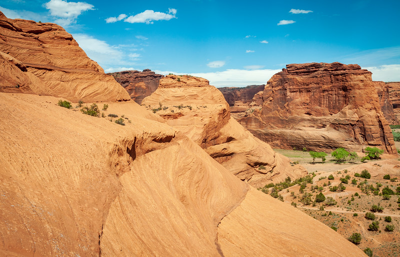 The Beautiful Cliffs at Canyon de Chelly National Monument