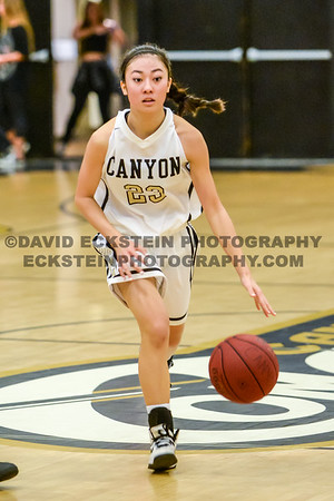 20150120 Canyon vs Foothill Girls Varsity