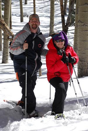 Snowshoeing in Santa Fe