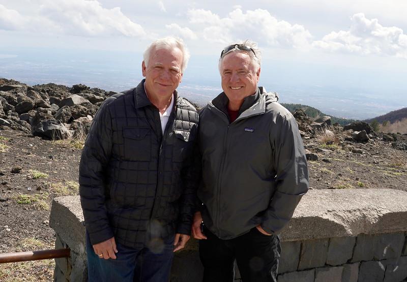 On Mt Etna