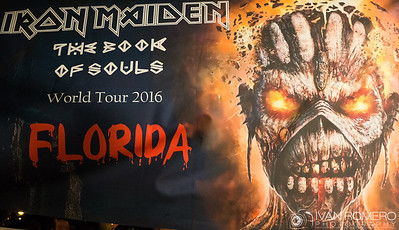 Iron Maiden - The Book of Souls World Tour - Ft. Lauderdale, Fl