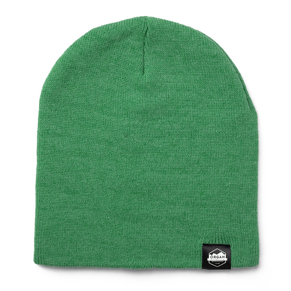 Outdoor Apparel - Organ Mountain Outfitters - Hat - 8 Inch Knit Beanie - Heather Green.jpg