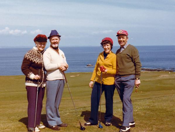 Skotlandsferðir 1973-9 - Kristmann Magnússon