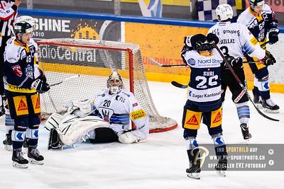 National League: EVZ - HC Fribourg-Gottéron