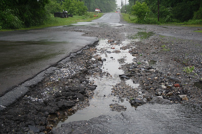 Rain Storm, Flood Damage, Lansford (5-26-2012)