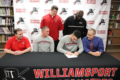 Ethen Stryker Signs to Play Football at Shippensburg University