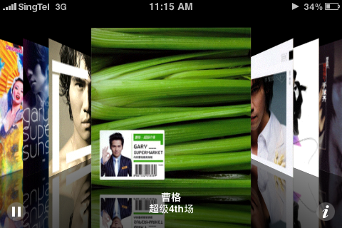 Apple iPhone and Chinese Album Art