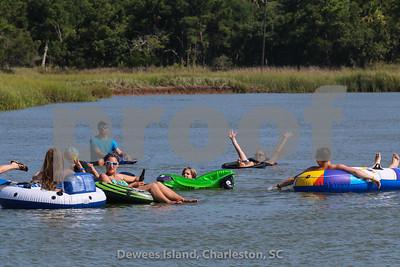 Creek Float before Kelly and Cori wedding 2015