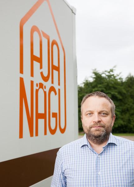 Aja Nägu AS, General Manager: Kalle Allas Mob: +372 5139597. kalle@ajanagu.ee