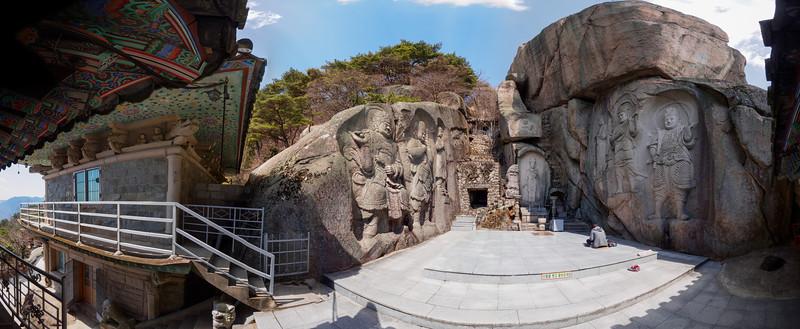 Seokbulsa Temple, outside Busan