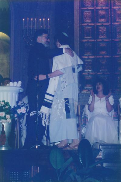1997 06 Karen Landy's Rabbi School Grad