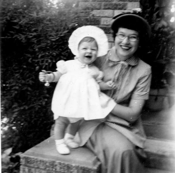 Janice Smock - 9 mo. Maria Jacob Smock May 20, 1952