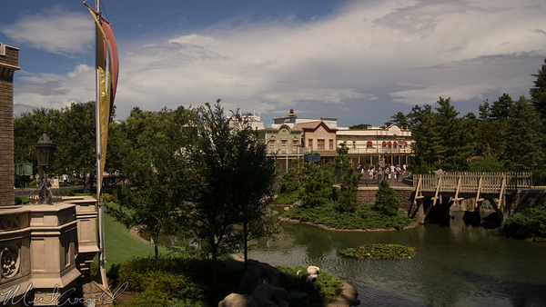 Disneyland Resort, Tokyo Disneyland, Westernland, Fantasyland, Cinderella Castle, Cinderella, Castle