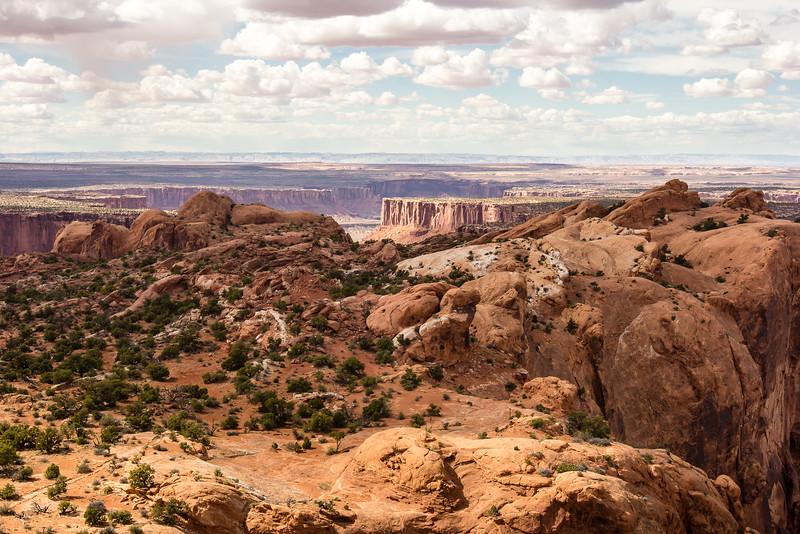 Upheaval Dome Canyon