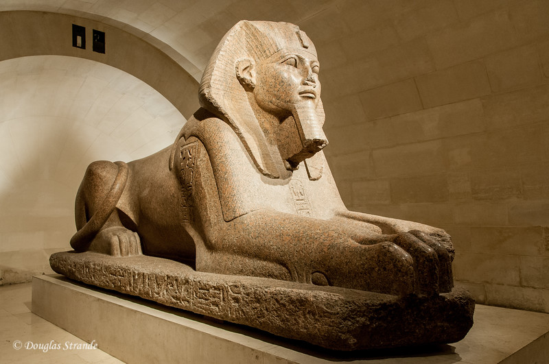 At the Louvre: Great Sphinx of Tanis