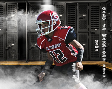 Galt Jr Warriors posters 2016