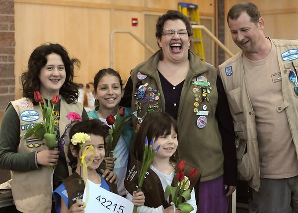 Girl Scout Bridging May 2015