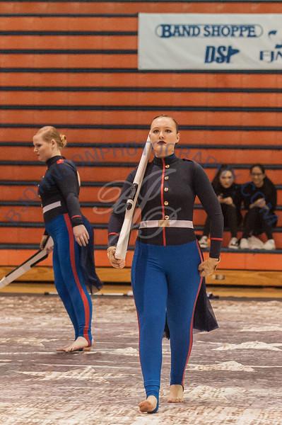 Purdue University Winter Guard