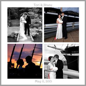 Tori & Shane ~ wedding