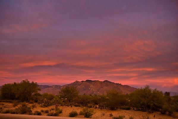 2010 Tucson Sunsets