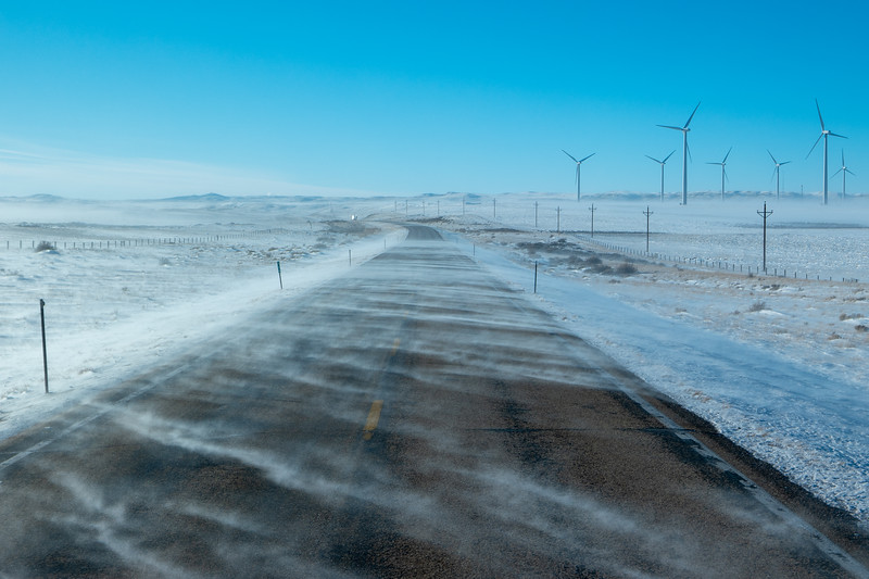 Wyoming Blowing Snow US-30