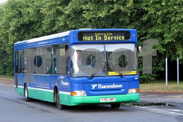 Swindon Buses July 2014
