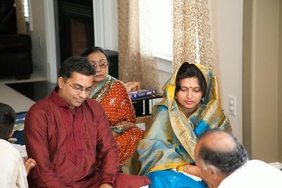 Saloni/Rakesh Housewarming pooja