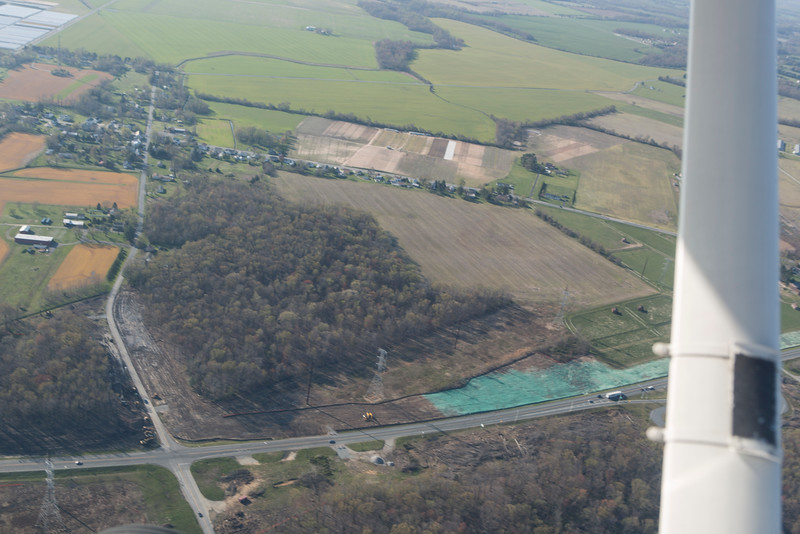 Southern edge of the 301 Bypass Project