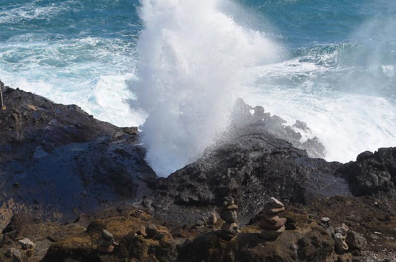 Vuna Blow hole Taveuni Fiji