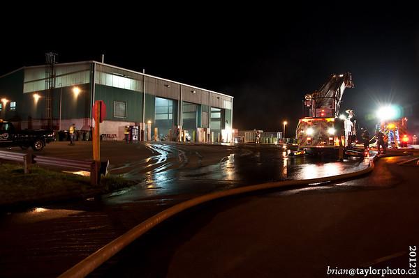 Valley Waste Fire, Kentville, June 23, 2012