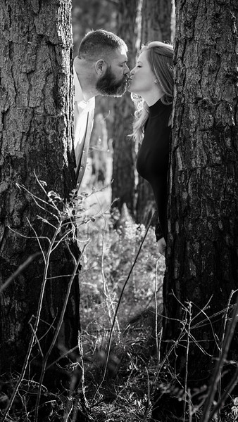 Emery behind tree close up B&W.jpg