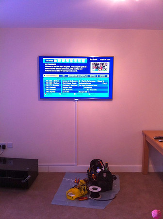 Seabrook Cres, Wall mounted LCD TV's