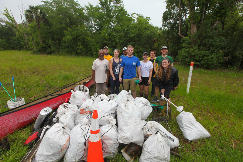 St. John's Riverkeeper McCoy Creek Clean-up
