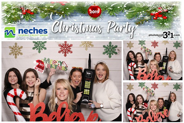 Neches FCU Christmas Party 2019