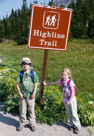 Hiking Highline Trail - 2012