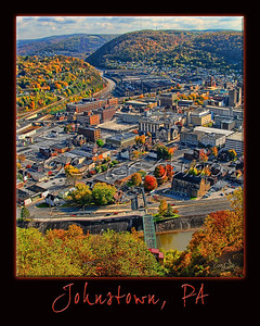View of Johnstown - Fall