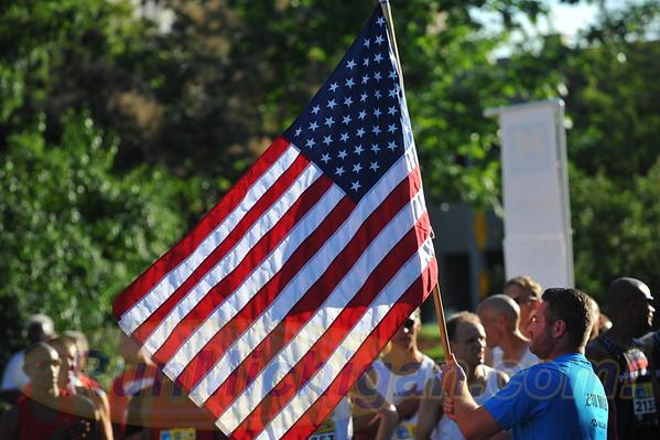 USATF Men's Masters Mile Start - 2016 Crim Festival of Races