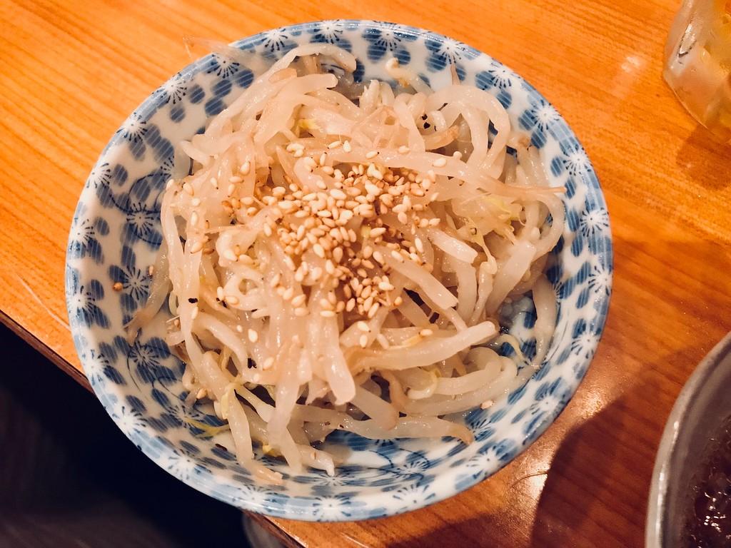 Moyashi namul.