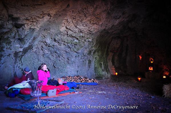 Weihnachten in der Höhle