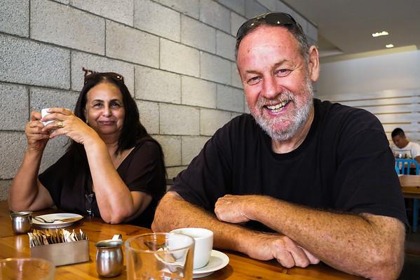 8/10/2014: Arie & Gila, Tel Aviv