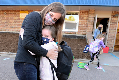 Photos: First Day of In-Person Learning at Ryan Elementary
