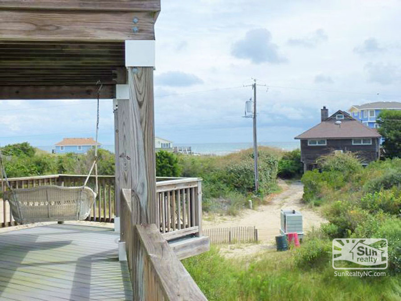 Deck Swing w-Ocean Views