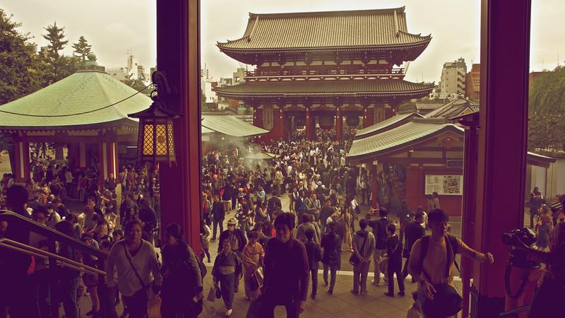 Old Tokyo, Japan