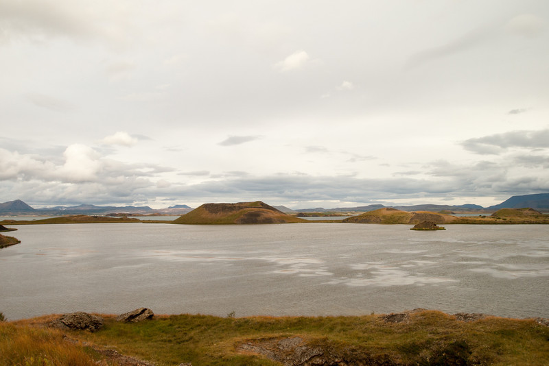 Pseudocraters at Myvatn