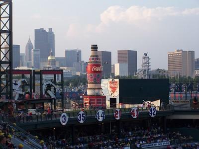 Braves vs Astros - 31 July 2007