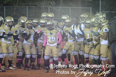 10-17-2015 Montgomery Village Sports Association Chiefs JR Midgets vs Ridge Road Titans, Photos by Jeffrey Vogt Photography